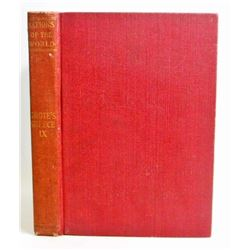 "1900 ""NATIONS OF THE WORLD"" HARDCOVER ANTIQUE BOOK"