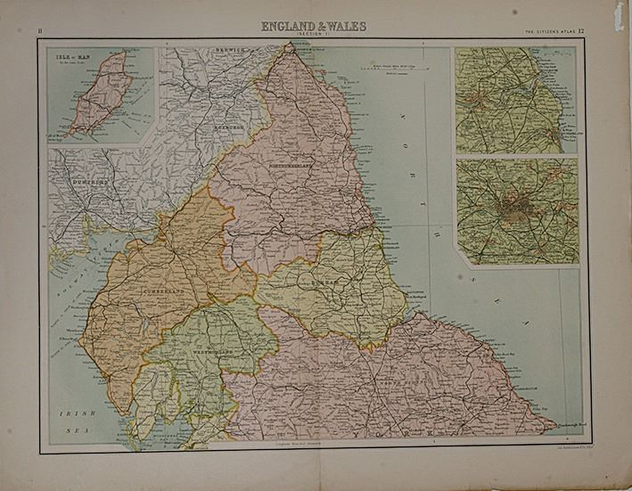 The citizens atlas world maps england wales image 1 the citizens atlas world maps england wales gumiabroncs Images