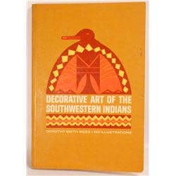 """""""DECORATIVE ART OF THE SOUTHWESTERN INDIANS"""" BOOK"""