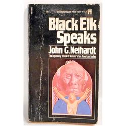 "1972 ""BLACK ELK SPEAKS"" NATIVE AMERICAN INDIAN BOOK"