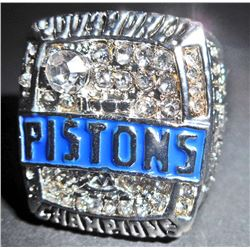 2004 DETROIT PISTONS NBA CHAMPIONSHIP RING REPLICA