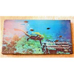 VINTAGE THE UNDERSEAS WORLD OF JACQUES COUSTEAU BOARD GAME IN ORIG. BOX
