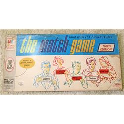 VINTAGE MB THE MATCH GAME BOARD GAME IN ORIG. BOX