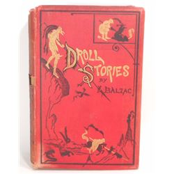 """ANTIQUE """"DROLL STORIES THE ABBEYS OF TOURAINE"""" GUSTAVE DORE HARDCOVER BOOK"""