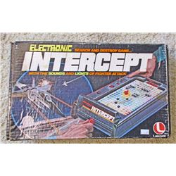 VINTAGE LAKESIDE INTERCEPT ELECTRONIC GAME IN ORIG. BOX