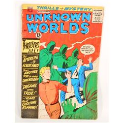 1963 UNKNOWN WORLDS NO. 26 COMIC BOOK - 12 CENT COVER