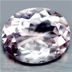 3.78 CT NATURAL! PINK BRAZIL AMETHYST OVAL