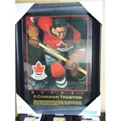 """FRAMED LTD ED """"A CDN TRADITION"""" PICTURE"""