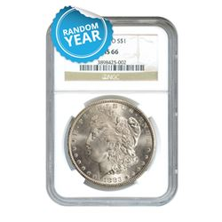 Morgan Silver Dollar MS66