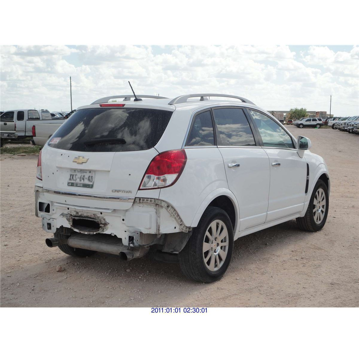 2011 Chevrolet Captiva Export Only