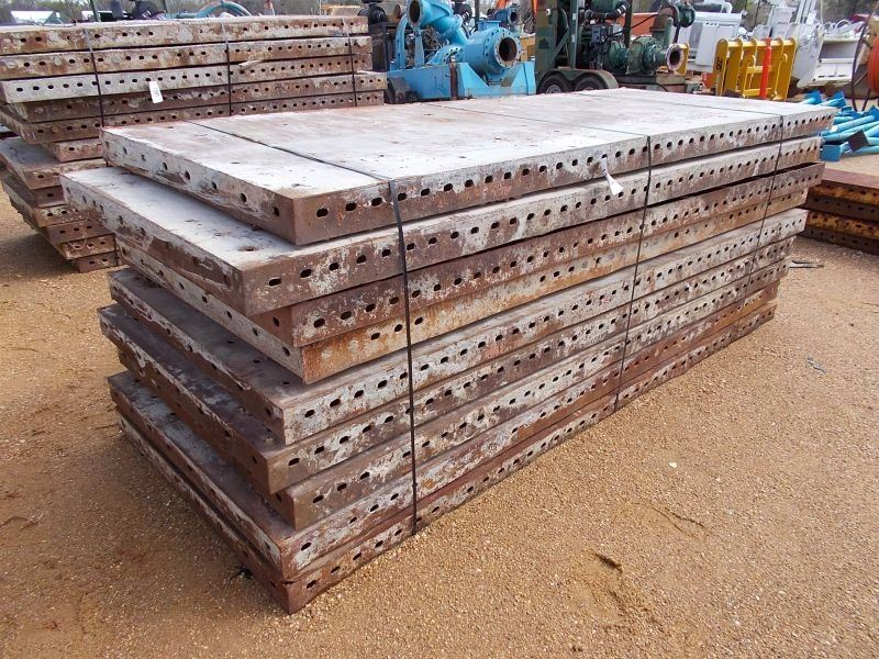 Steel Concrete Forms : X metal concrete forms j m wood auction