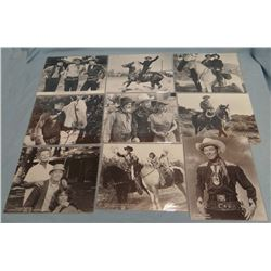 Asst'd movie photos, Roy Rogers, Gabby Hayes, Rocky Lane, Randolph Scott, Henry & Jane Fonda, etc. (
