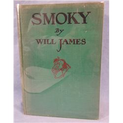 Will James, Smoky, 1926, Signed 1st Edition, 2nd printing
