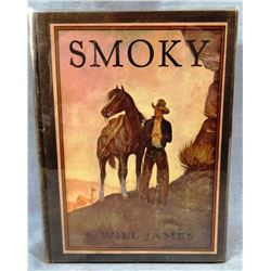 Will James, Smoky,Classic Illustrated, 1931, inscribed and signed to Hollywood producer, Paul Wurtze