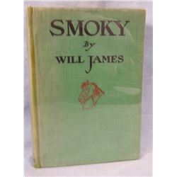 Will James, Smoky, 1st Edition, 1st printing. Rare.