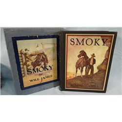 Will James, Smoky, Illustrated Classic Edition in box, 1933, believed the first year of issue in pub