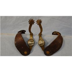 North & Judd Hercules bronze horsehead spurs