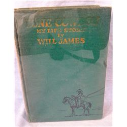 Will James, Lone Cowboy, Signed, 1931 edition