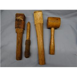 Several leather tools found in Al Furstnow's shop basement