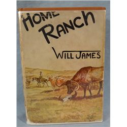 James, Will, Home Ranch, 1935, 1st Edition
