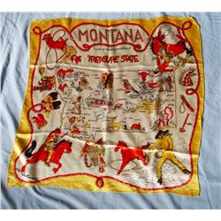(2) Western scarves, Montana & Rodeo
