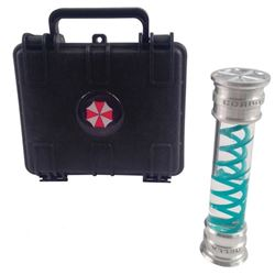 Resident Evil 6 Dr. Isaacs (Iain Glen) Hero DNA Vial and Case Movie Props