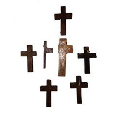 Resident Evil 6  Wooden Crosses Movie Props