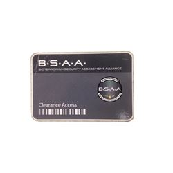 Resident Evil: The Final Chapter B.S.A.A. Clearance Access Card Movie Props