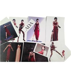Resident Evil: Retribution Ada Wong's (Bingbing Li) Renderings Movie Memorabilia