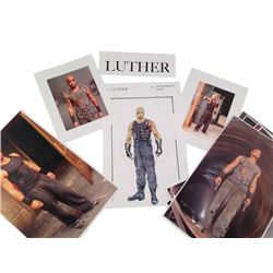 Resident Evil: Retribution Luther's (Boris Kodjoe) Renderings Movie Memorabilia