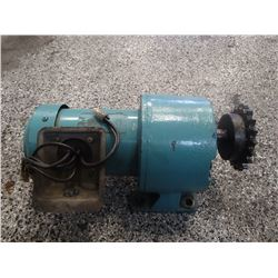 Electric motor with speed reducer no main tags for Speed reducers for electric motors