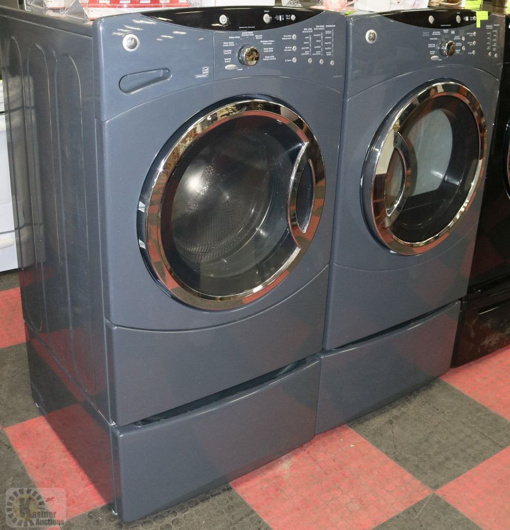 Ge Dryer With Pedestal Drawer And Ge Front Load
