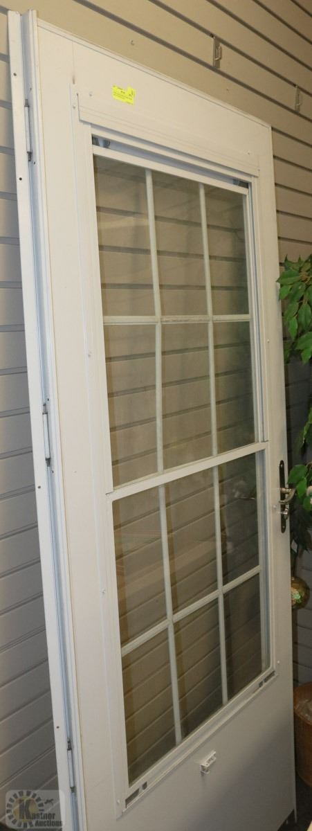 Steel And Glass Outside Door 36x 79