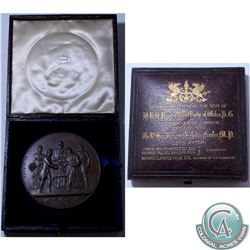 1885 City of London Commemorative Medal in original Mint Box (EIMER #1717) This Medal Commemorates t