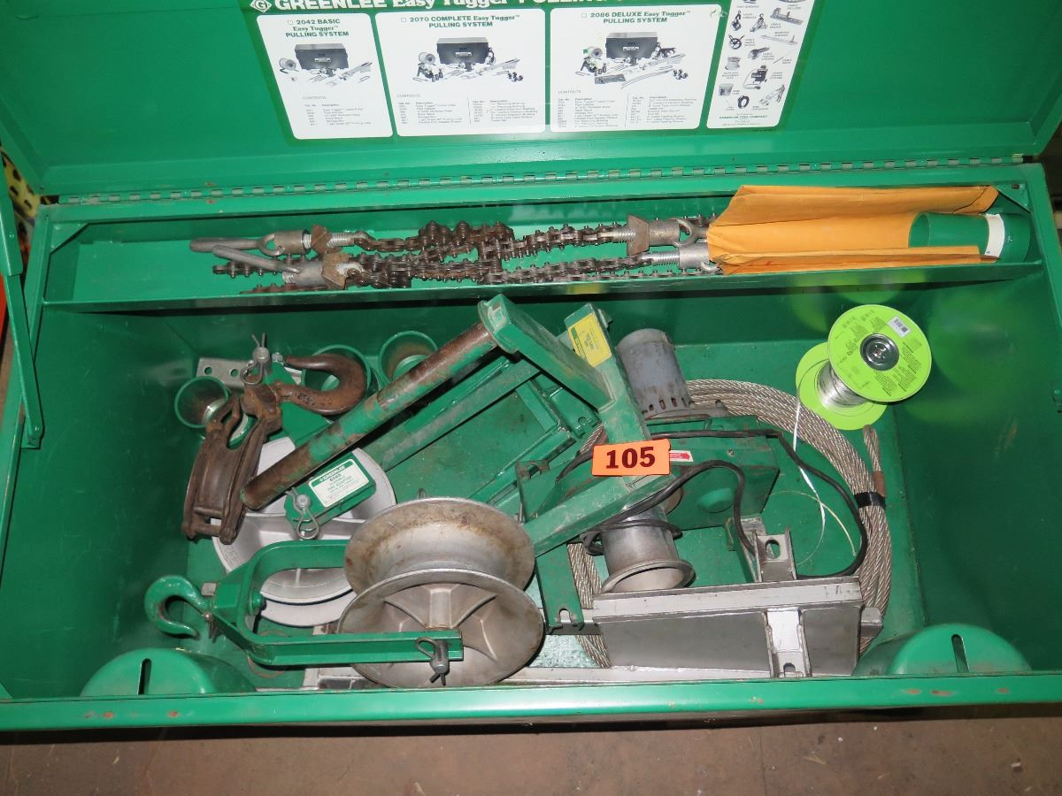 Greenlee Easy Tugger Cable Wire Pulling System w/Hook Sheave, 6085 ...