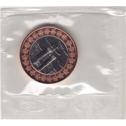1998 Canada Royal Canadian Mint 90th Anniversary Bi-Metalic Medallion in RCM Packaging