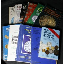 11 Different Coin Catalogues & Watch Catalogues