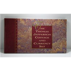 Thomas Jefferson Coinage & Currency Set - US Mint