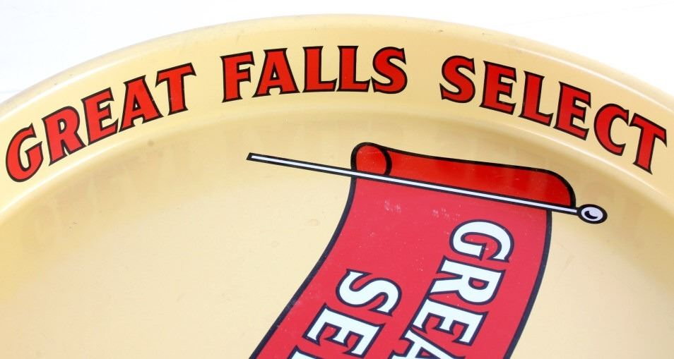 Great Falls Select Sick's Beer Tray from Montana