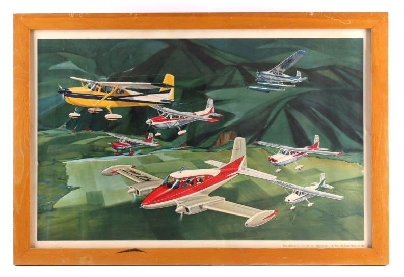 Cessna Airplane Framed Print