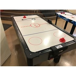 LARGE AIR HOCKEY TABLE (SCORE BOARD IS DAMAGED)