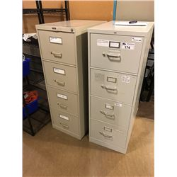 2 X 4 DRW. LEGAL FILE CABINETS