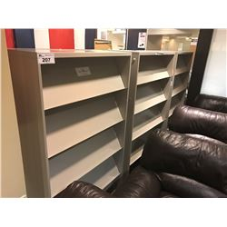3 X 6' TALL LITERATURE RACKS