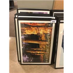 STACK OF FRAMED PICTURES