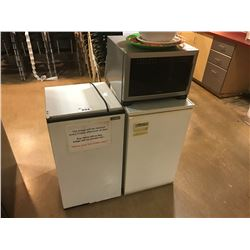 2 BAR FRIDGES AND SHARP SS MICROWAVE OVEN