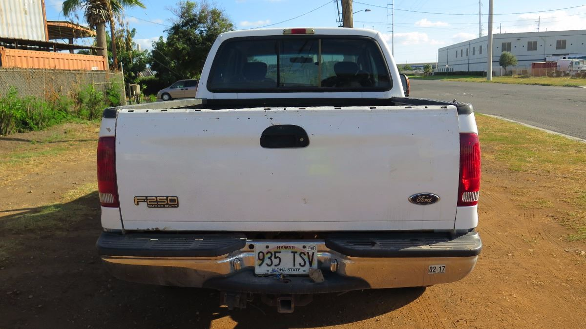 2004 Ford F250 Lariat Pick Up Truck Extended Cab Cold Ac Lic F 250 Image 4