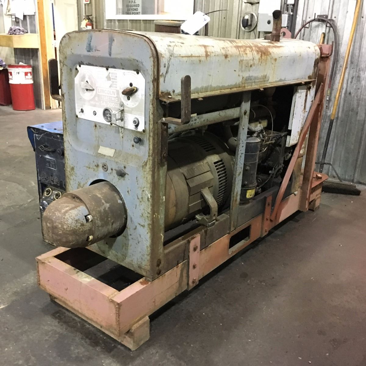 Lincoln Sa 200 Welding Power Source Welder