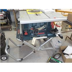 Bosch 4000 Contractors Table Saw With Construction Site Stand