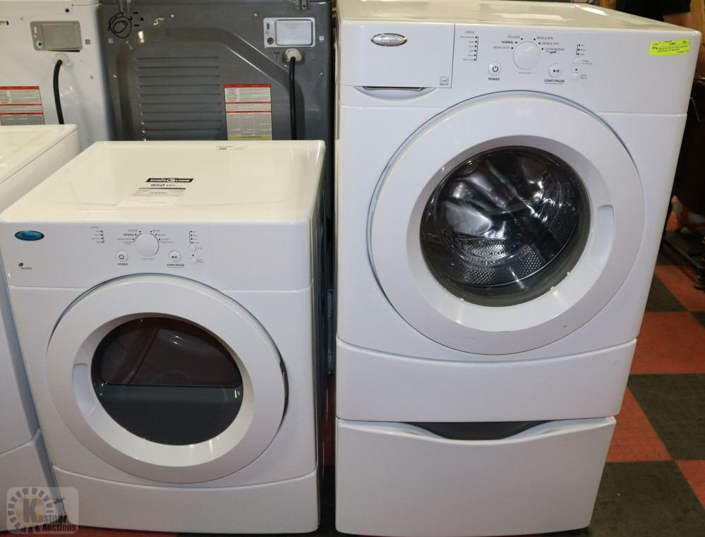 Whirlpool Front Load Washer With Pedestal Drawer