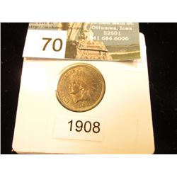 1908 Indian Head Cent MS-60